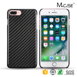 Luxury Original Ultra Thin Carbon Fiber Phone Back Cover for iPhone 7 Plus pictures & photos