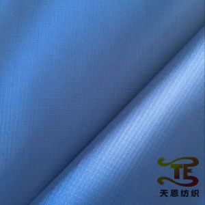 100% Nylon Full Dull Ribstop Fabric Double Line Check Nylon Fabric pictures & photos