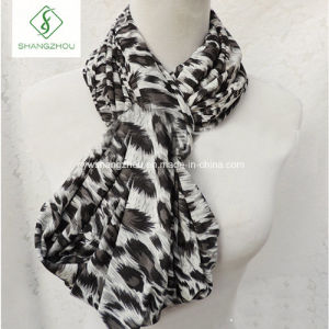 Europe Leopard Printed Neck Warmers Fashion Lady Scarf Factory pictures & photos