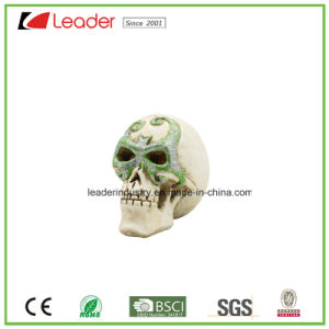 Hot Sales Polyresin Skull Figurines for Halloween Gifts and Decoration pictures & photos