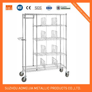 Metal Wire Display Exhibition Storage Shelving for Monaco Shelf pictures & photos