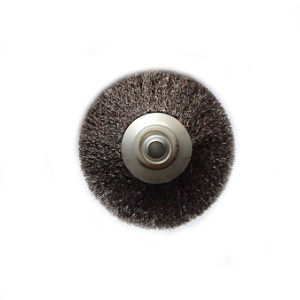 Crimped Wire Wide Face Wheel Brushes pictures & photos