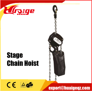 380V 500kg 1000kg Small Electric Chain Stage Hoist pictures & photos