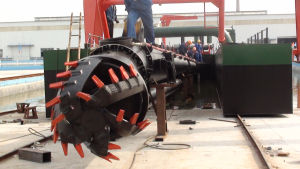 Portable River Sand Cutter Suction Pump Dredger pictures & photos