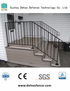 Black Powder Coated Stair Fencing for House with High Quality pictures & photos