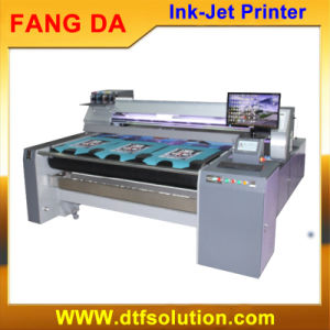 Fangda 1.6m High Speed Pigment Ink Direct Fabric Printing Printer pictures & photos