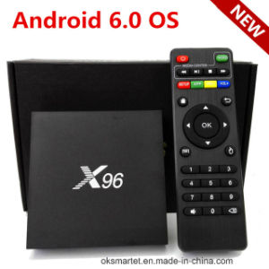 Amlogic S905X Cheapest Android TV Box X96 Xbmc 16.0 Bluetooth 4.0 Quad Core 2GB 16GB X96 TV Box pictures & photos
