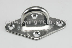 Stainless Steel Diamond Ring Pad Eye pictures & photos