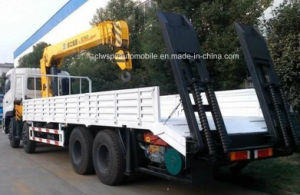 Auman Heavy Duty 8X4 Crane on Truck 12 Tons Crane Truck Price pictures & photos