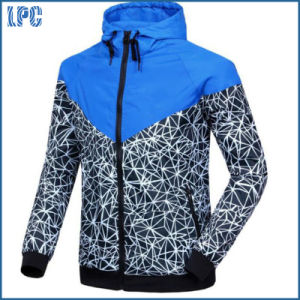 Autumn Thin Waterproof Windproof Printed Fashion Jacket pictures & photos