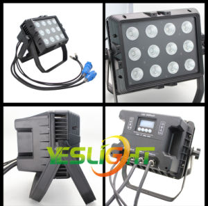 RGB LED Light 15W*12PCS COB LEDs for Outdoor Lighting IP65 Waterproof pictures & photos