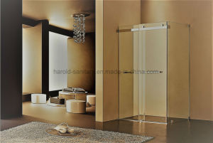 Hr-022 North America Popular Double Sliding Shower Screen pictures & photos