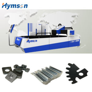 Electric Cabinet Fiber Laser Cutting Machine with Single Workboard pictures & photos