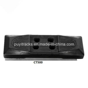 Rubber Pad Used on Machinery Steel Track 500mm pictures & photos