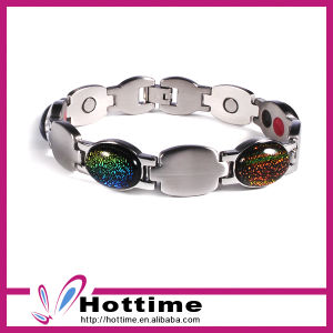 Multicolor Jade Bracelet for High Quality Stainless Steel (CP-JS-BL-145) pictures & photos