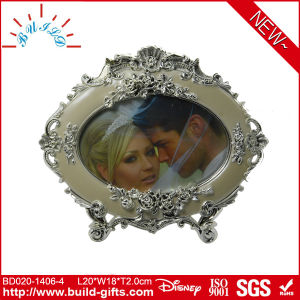 Wedding Hot Girls Photo Frame Oval Metal Photo Frame pictures & photos