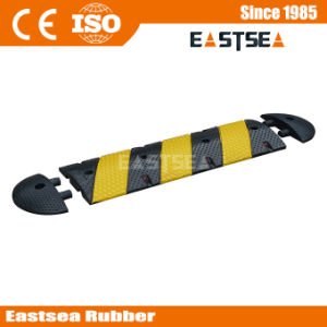 EPDM Standard Road 3 Feet Traffic Rubber Speed Bump pictures & photos