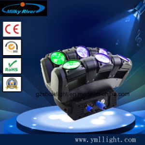 Osram19*12W 4-in-1 RGBW LED Moving Head Beam Light pictures & photos