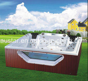 2900mm Square Free Standing Outdoor SPA for 5 Persons (AT-9002) pictures & photos