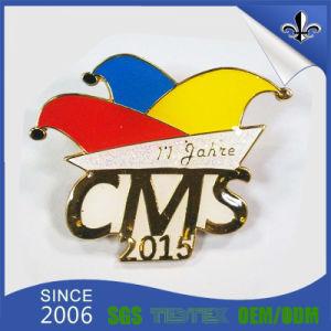 Modern Plating 3D Customized Metal Enamel Badge pictures & photos
