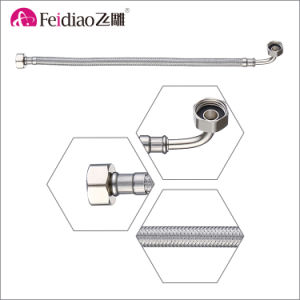Good Price Durable Stainless Steel Braided Flex Hose with Elbow pictures & photos