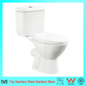 Hot Sale Design Two-Piece bathroom Toilet to European Market pictures & photos