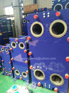 Hot and Cold Water Plate Heat Exchanger Cooler pictures & photos