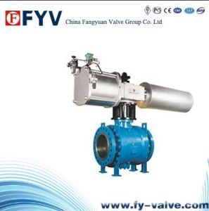 API 6D Trunnion Ball Valve -3 PCS pictures & photos