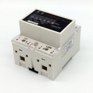 Dds-5r Series DIN Rial Mounted Single Phase Electronic Energy Meter pictures & photos