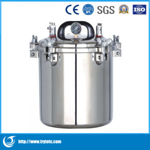 Portable Pressure Steam Sterilizer-Portable Autoclave Equipment pictures & photos