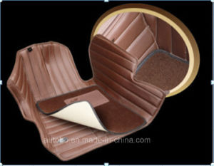 Car Mat 3D PVC Leatherette Carpet with XPE