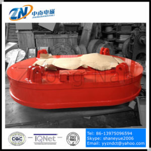 Oval Shape Coil Lifting Magnet for Unloading Steel Scrap From Narrow Space MW61-300210L/1-75 pictures & photos