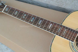 Hanhai Music/41′′ Top Solid Acoustic Guitar with 12 Strings (D45S) pictures & photos
