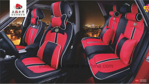 Car Seat Cover 3D Viscose Fabric/Ice Silk pictures & photos
