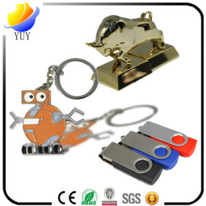 Customizable Logo Metal USB Flash Drive for Promotional Gifts pictures & photos