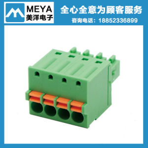 5.0mm 5.08mm Pitch Green Black Screw Terminal Block Wire Connector pictures & photos