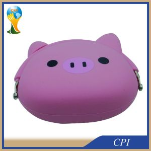 Waterproof Food Grade Cute Animal Design Silicone Purse pictures & photos