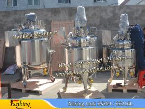 Chemical Reactors Tank Reactors Reaction Tanks Reactors Soap Reactors Reaction Vessels Jacketed Reactors Stainless Steel Mixing Tanks (Reactors pictures & photos