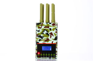 LCD Screen 6-Antennas Portable Mobile Phone Jammer GPS Jammer WiFi Lojack Jammer pictures & photos