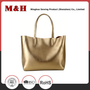 Large Capacity Various Color PU Ladies Tote Handbags pictures & photos
