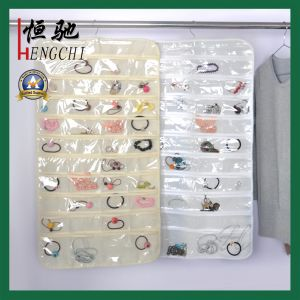 80 Clear Pockets Jewelry Decoration Storage Bag for Bathroom pictures & photos