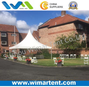 6X6m Backyard High Peak Pagoda Tent for Afternoon Tea pictures & photos