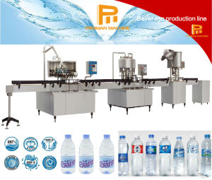 Simple and Effective Liquid Washing, Filling and Capping Production Line pictures & photos