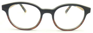 Oqwa162611 Design Quality Wooden Acetate Temple Eyeglass Wooden Optical Glass Aluminum Inside pictures & photos