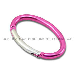 Metal Aluminum Carabiner for Keychain pictures & photos