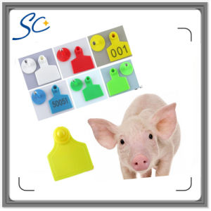 Pig Ear Tag TPU Animal 50*42mm Visual Ear Tag pictures & photos