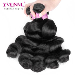Loose Wave Virgin Peruvian Human Hair pictures & photos