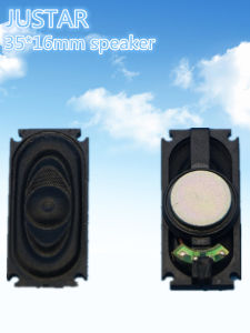 35*16mm 8ohm 1-2W Cloth-Edge Speaker pictures & photos