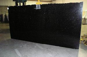 2016 Black Galaxy Granite Building Material Tiles pictures & photos