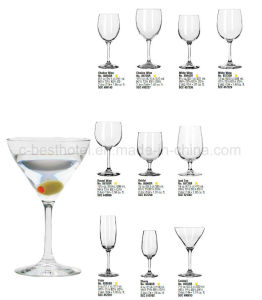 Jumbo Red Wine Glasses Crystal Wine Glass pictures & photos